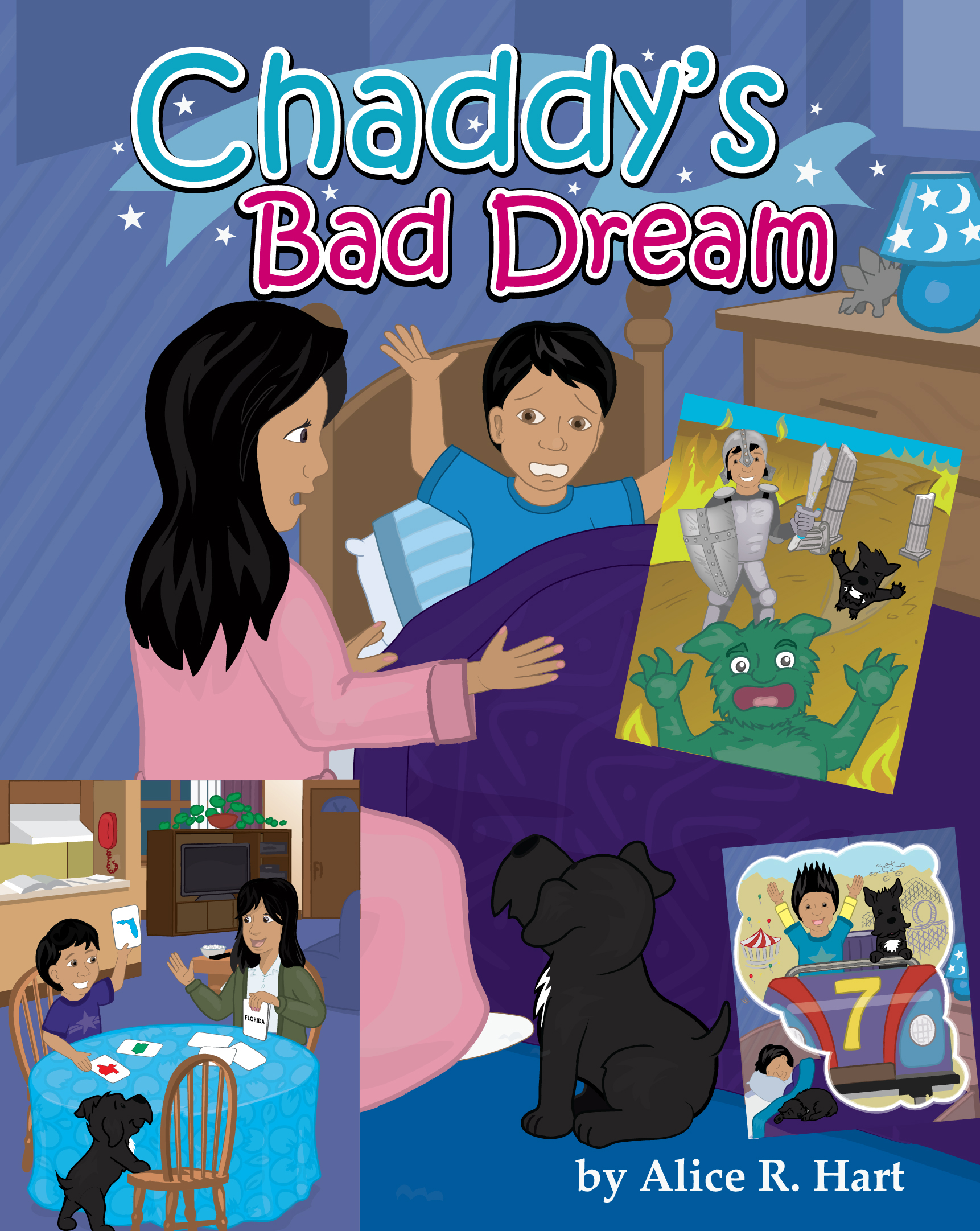 Chaddy Bad dream book cover
