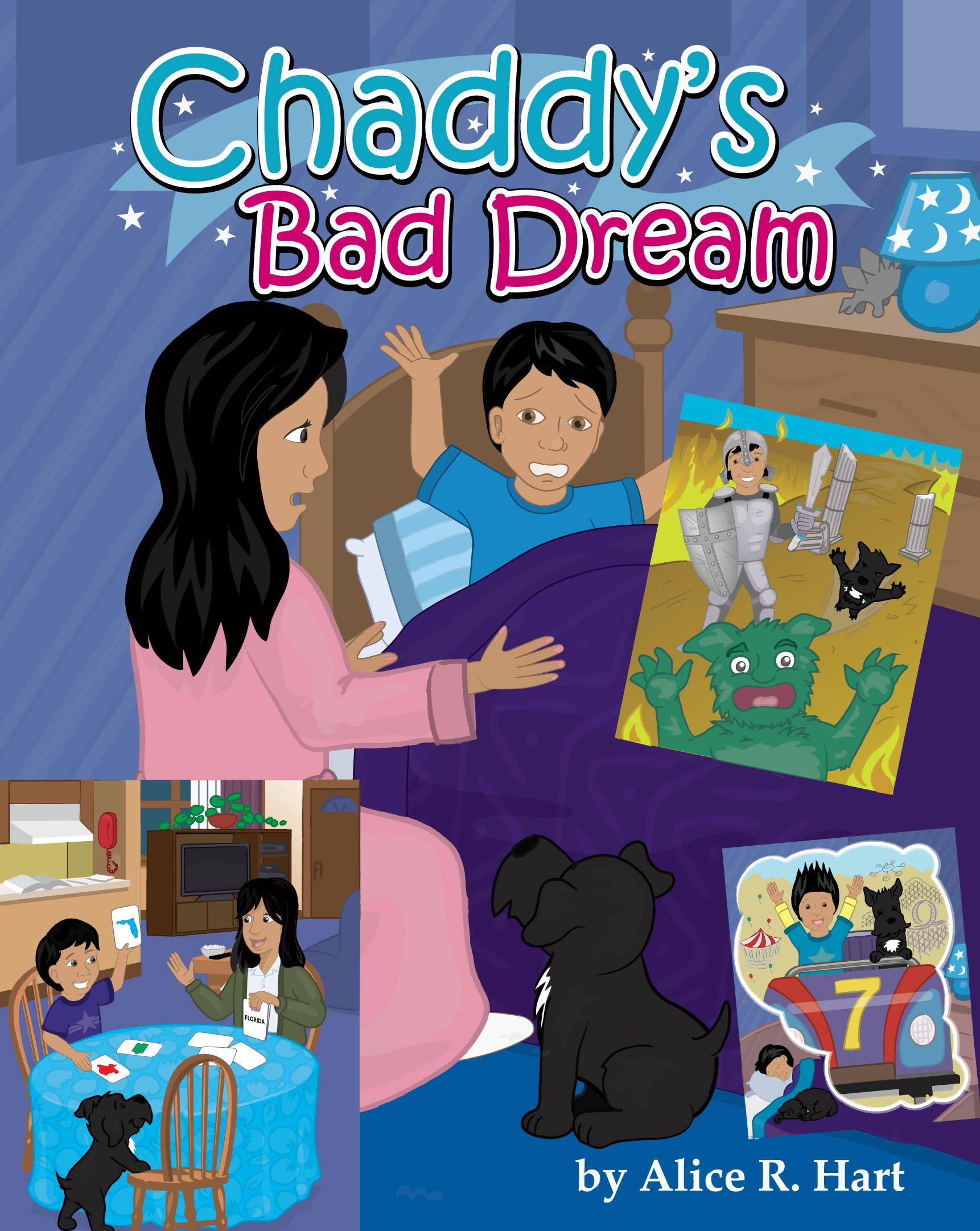 Chaddy Bad dream book cover